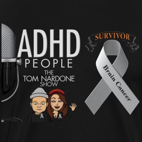 Survivor (show logo) - Men's Premium T-Shirt