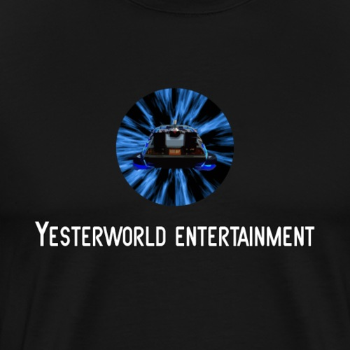 Yesterworld To The Past Logo - Men's Premium T-Shirt