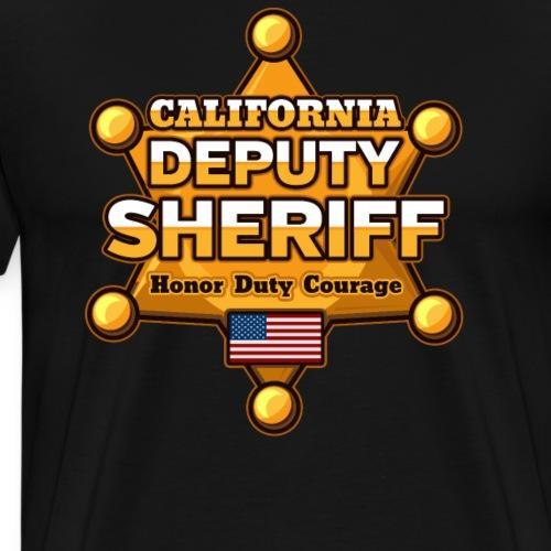 California Deputy Sheriff - Men's Premium T-Shirt