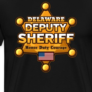 Delaware Deputy Sheriff - Men's Premium T-Shirt