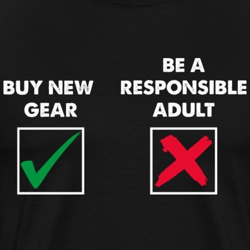 New Gear or Adult? - Men's Premium T-Shirt