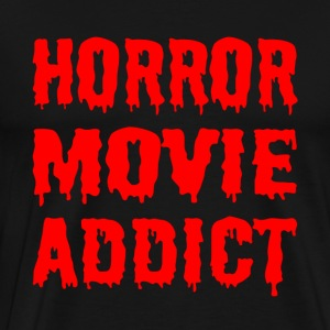 Horror Movie Addict - Men's Premium T-Shirt