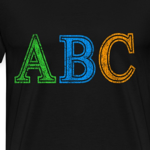 ABC Vintage - Men's Premium T-Shirt