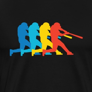 Baseball Batter Pop Art - Men's Premium T-Shirt