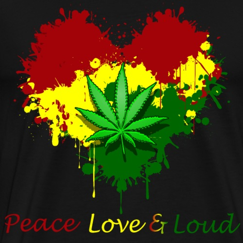 Peace Love Loud - Men's Premium T-Shirt