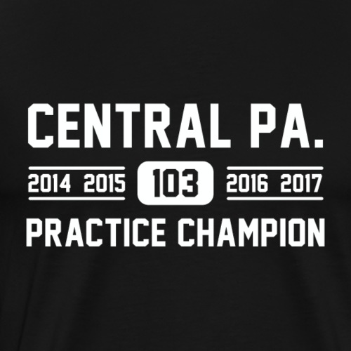 Central PA Practice Champion White - Men's Premium T-Shirt
