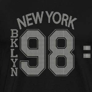 NY BKLYN 98 - Men's Premium T-Shirt