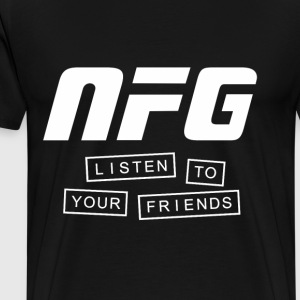 New Found Glory Listen to Your Friends - Men's Premium T-Shirt