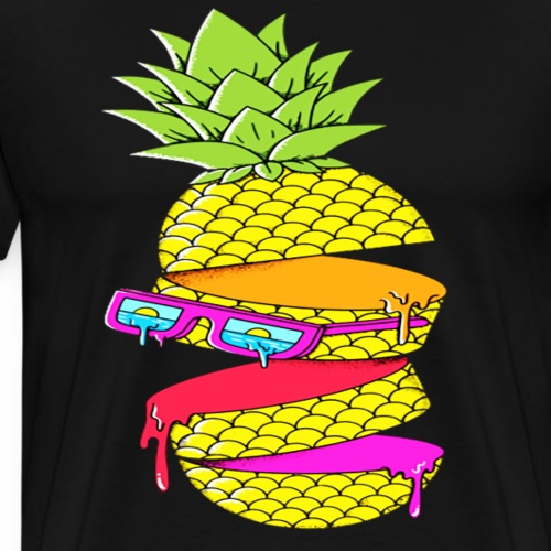 Funny Pineapple COLL DESIGN T-Shirt - Men's Premium T-Shirt