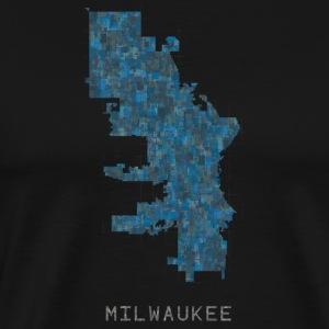 milwaukee blue - Men's Premium T-Shirt
