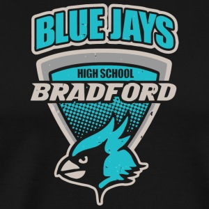 Blue Jays High School Bradford - Men's Premium T-Shirt