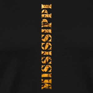 Mississippi Constitution Design - Men's Premium T-Shirt