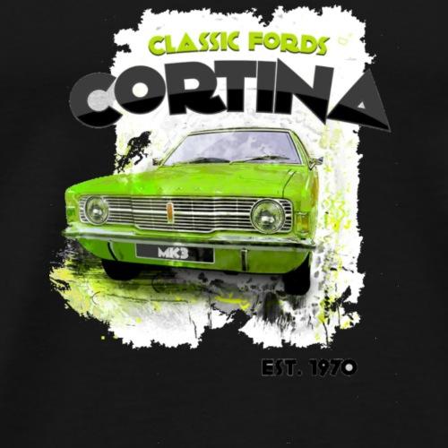 Classic Car Cortina Fords - Men's Premium T-Shirt