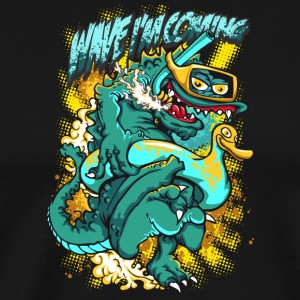 WAVE_I-M_COMING - Men's Premium T-Shirt