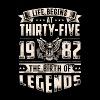 Life Begins at Thirty-Five Legends 1982 for 2017 - Men's Premium T-Shirt