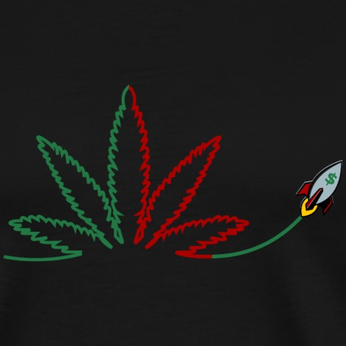 Weed stocks - Men's Premium T-Shirt