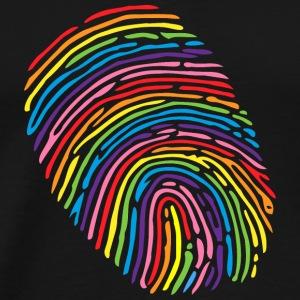 Pride Fingerprint - Men's Premium T-Shirt