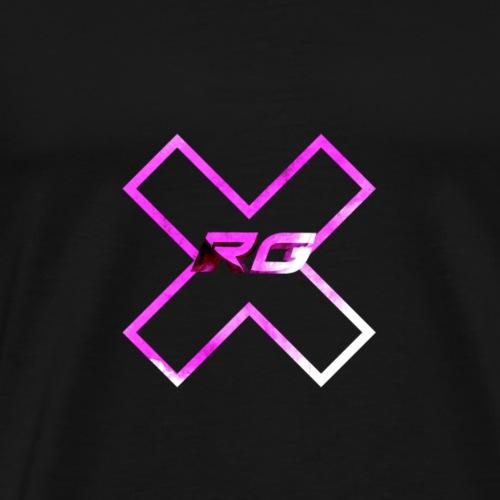RG pink drop - Men's Premium T-Shirt