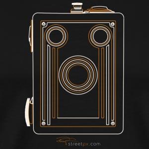 Camera Sketches - Brownie Target 16 - Men's Premium T-Shirt