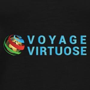 voyage virtuose logo - Men's Premium T-Shirt