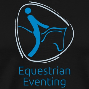 Equestrian_eventing - Men's Premium T-Shirt