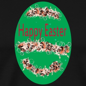 happy Easter green - Men's Premium T-Shirt