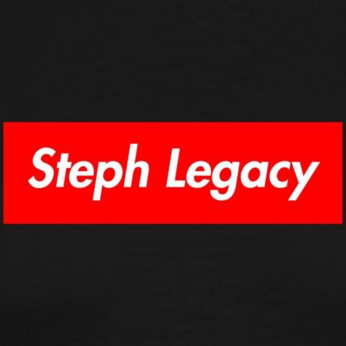 Steph Legacy Box Logo - Men's Premium T-Shirt