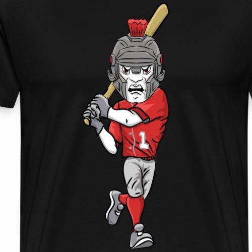 custom trojan mascot baseball - Men's Premium T-Shirt