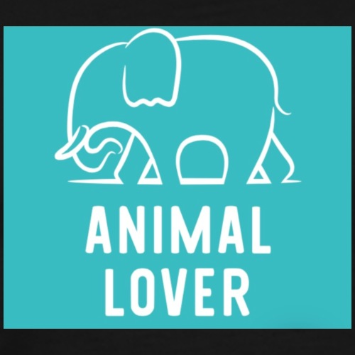 Animal Lover elephant - Men's Premium T-Shirt