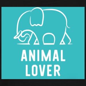 Animal Lover elephant - Men's Premium T-Shirt