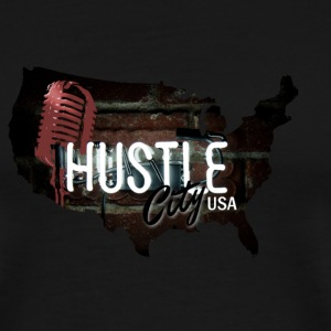 Hustle_City_USA - Men's Premium T-Shirt