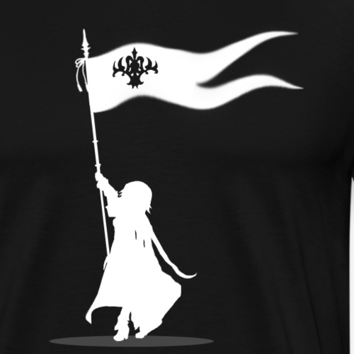 Jeanne d'arc God is here with me - Men's Premium T-Shirt