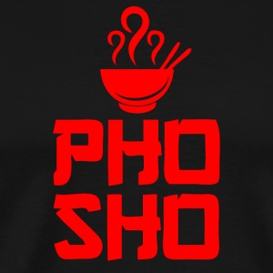 Pho Sho Foodie Asian Food - Men's Premium T-Shirt