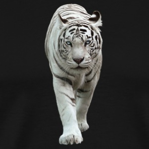 White Tiger - Men's Premium T-Shirt