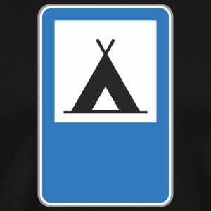 Road_sign_triangle - Men's Premium T-Shirt