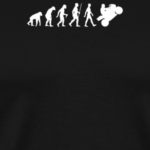 Evolution Of Motorbike - Men's Premium T-Shirt