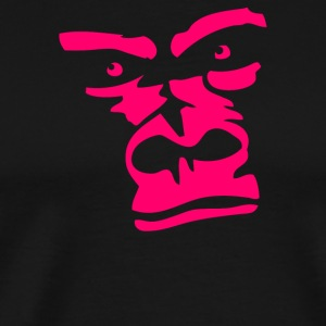 Ape face Gorilla - Men's Premium T-Shirt