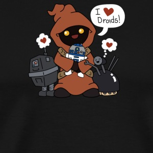 Jawas Love Droids - Men's Premium T-Shirt