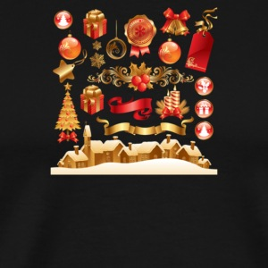 Christmas Elements 6 - Men's Premium T-Shirt