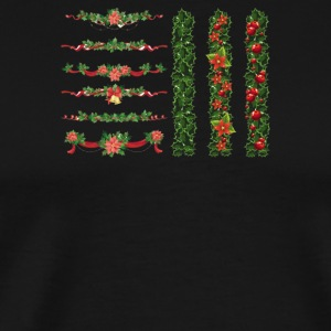Christmas Elements 7 - Men's Premium T-Shirt
