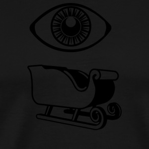 Eye Sleigh - Men's Premium T-Shirt