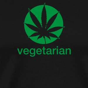 Vegetarian Sweet Leaf - Men's Premium T-Shirt