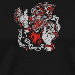 Wolf Man Unchained - Men's Premium T-Shirt