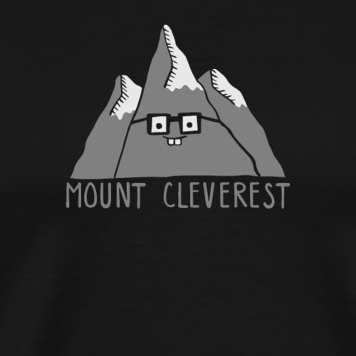 Nerd Mount Cleverest - Men's Premium T-Shirt