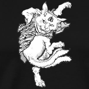 Three Tails Neko - Men's Premium T-Shirt