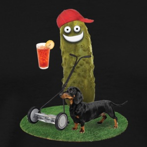 Lawn Mower Pickle - Men's Premium T-Shirt