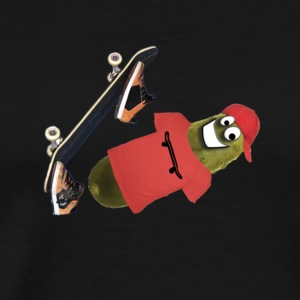 Skateboard Pickle Ollie - Men's Premium T-Shirt