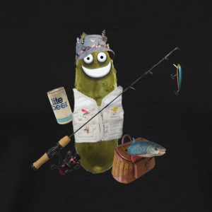 Fishing Pickle - Men's Premium T-Shirt
