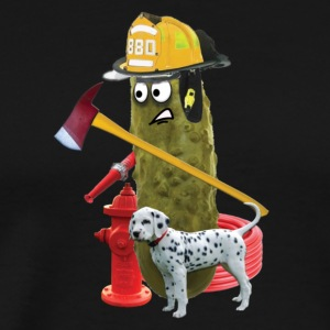 Firefighter Pickle - Men's Premium T-Shirt