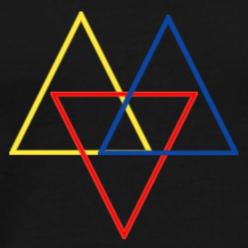 TriColor By Jonathan - Men's Premium T-Shirt